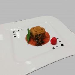 cube de foie-gras en croûte...